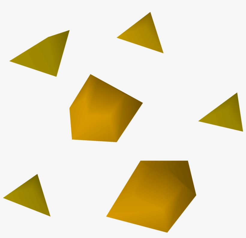 Hillbilly Clipart Gold Nugget - Gold Transparent PNG