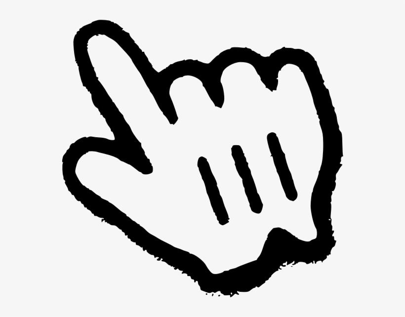 Mac Mouse Cursor Png - Pointer Finger Clipart Transparent