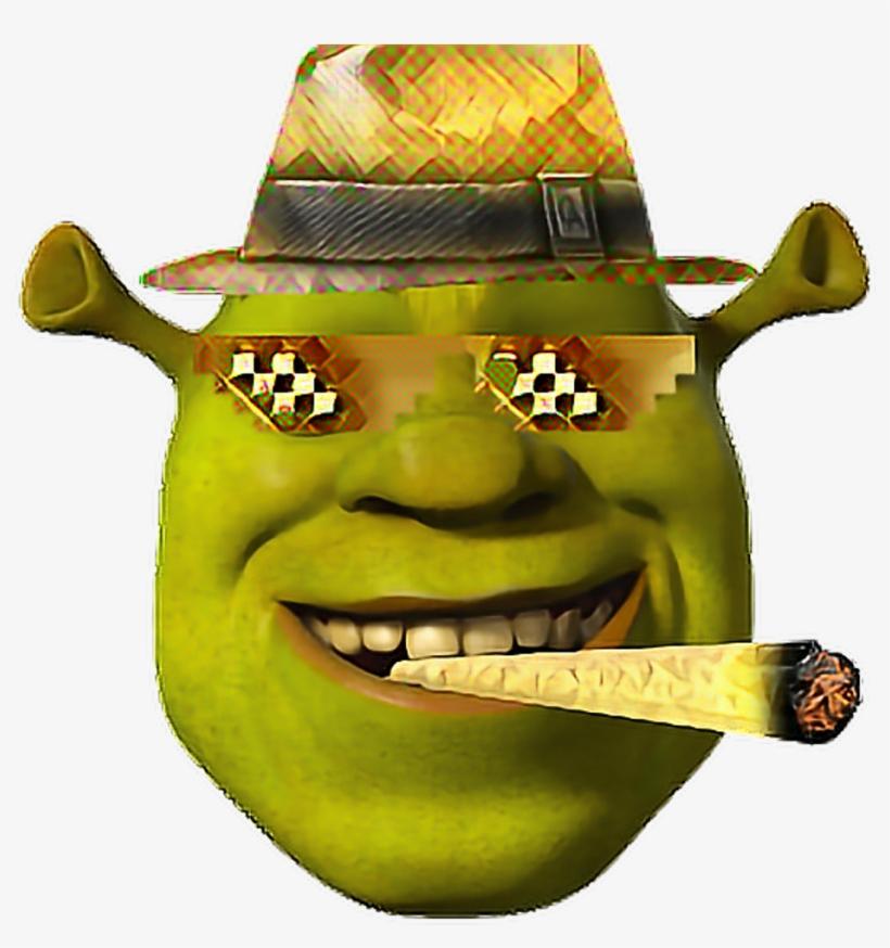 Golden Mlg Shrek Face Bling Shrek Dank Meme Funny Wow Dank Memes Transparent Background Transparent Png 1024x1024 Free Download On Nicepng