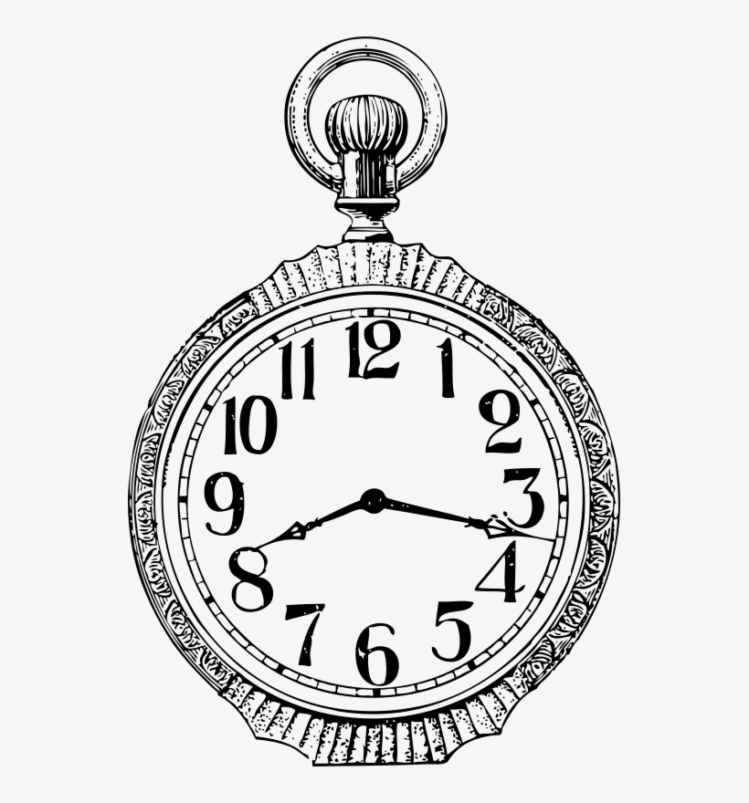 Reloj De Bolsillo Dibujo Transparent Png 539x800 Free Download