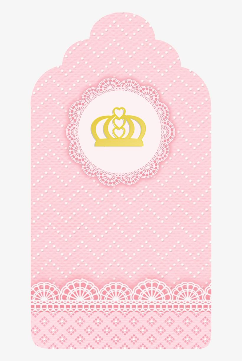Tag De Agradecimento Coroa De Princesa Convite De Aniversario