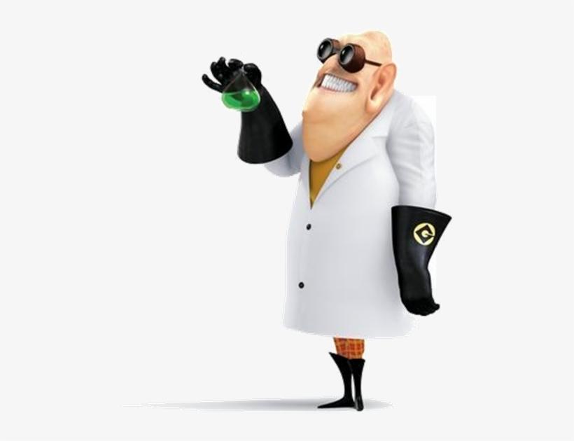 Nefario Holding Beaker - Dr Nefario From Despicable Me ...