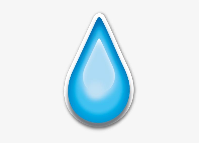 Teardrop Emoji Png - Tear Drop Emoji Png Transparent PNG