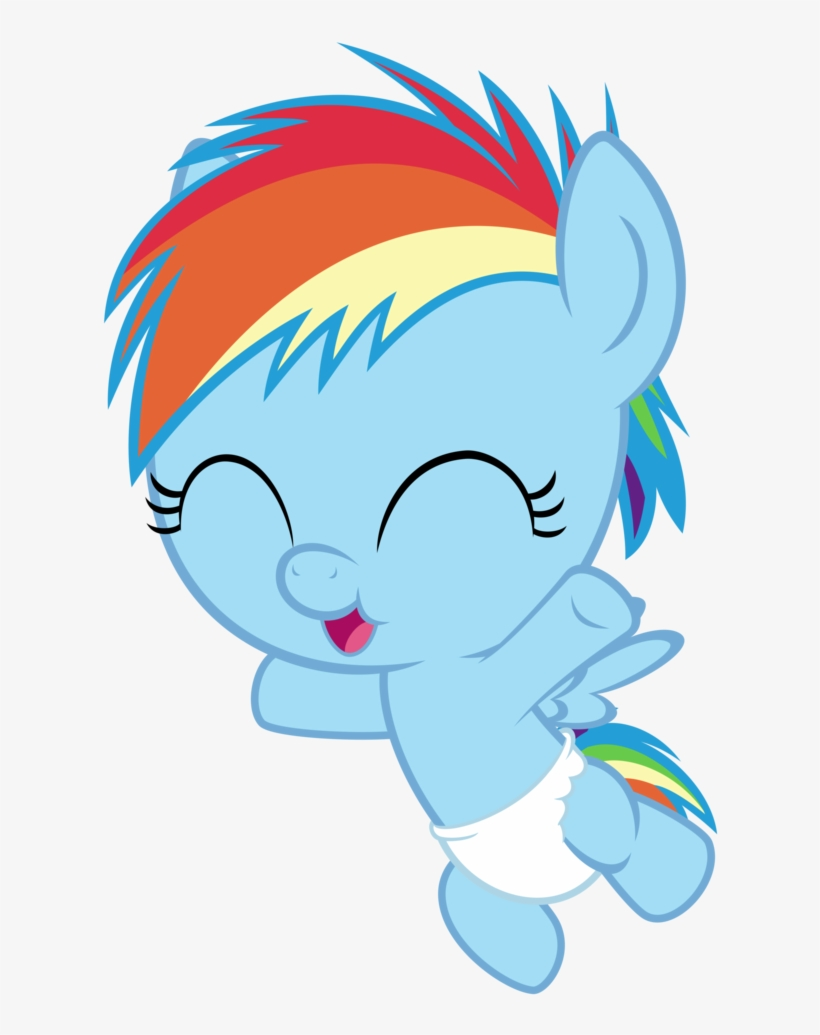 Baby Vector Stuff My Little Pony Rainbow Dash Baby Transparent