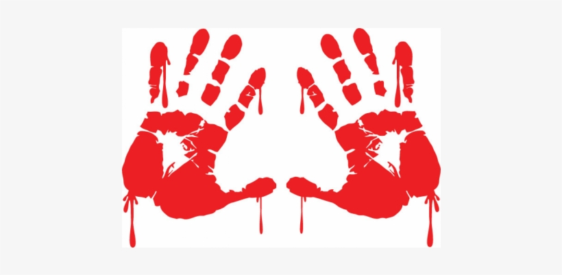 Bloody Hand Png For Kids - Wednesday's Child Transparent PNG