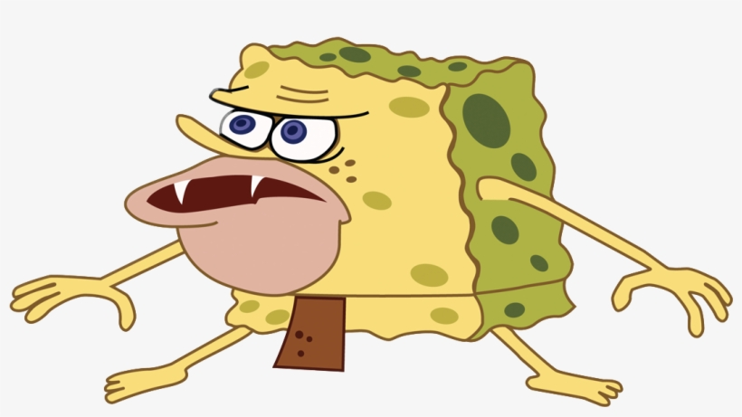 Caveman Spongebob - Caveman Spongebob No Background