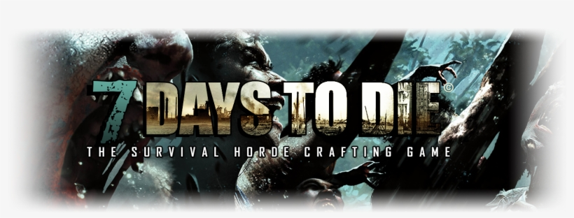 7 Days To Die Wallpaper Px Transparent Png 1400x465