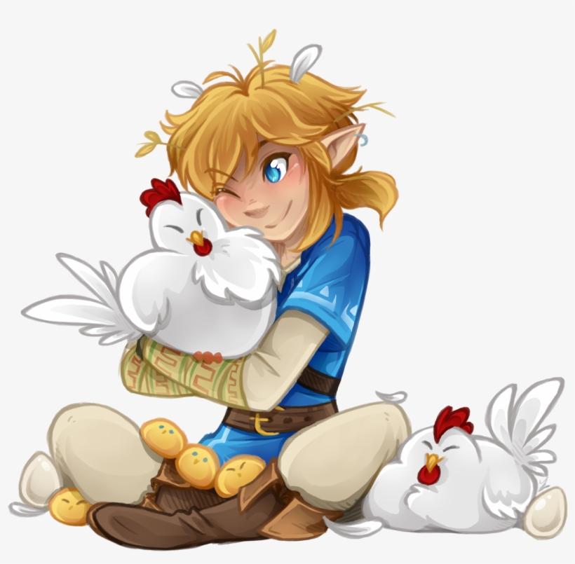 Cucco Chicks Tumblr Png Cute Link Loz Best Botw Zelda And