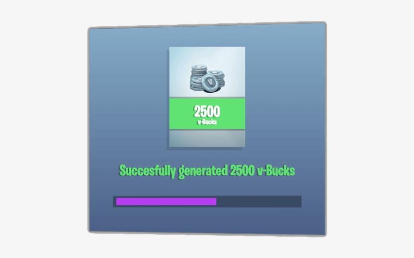 Hack Free Fortnite V Bucks Fortnite Transparent Png 564x454