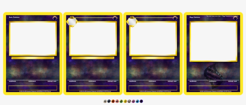 Picture Of New Pokemon Card Template Mega Blank Pokemon Cards