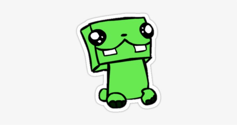 Pin Minecraft Creeper Face Wallpaper