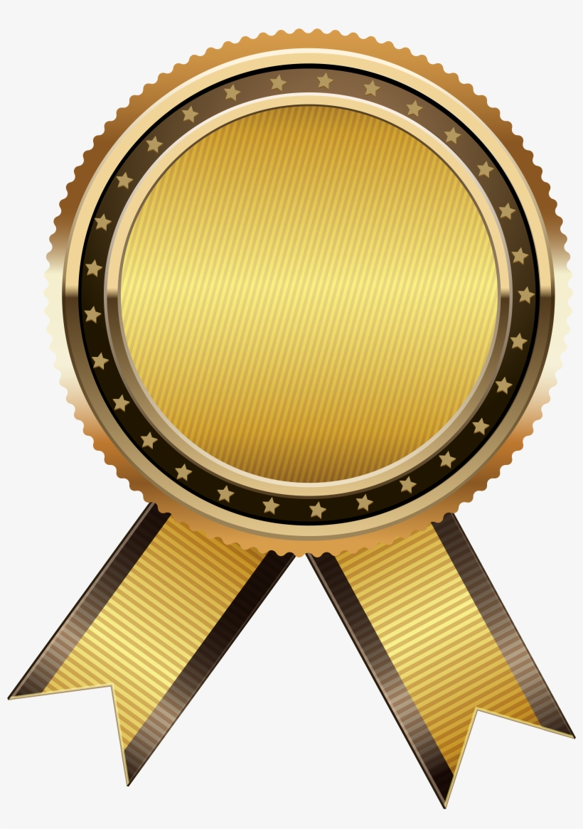 Gold Seal Free Png Clip Art Image