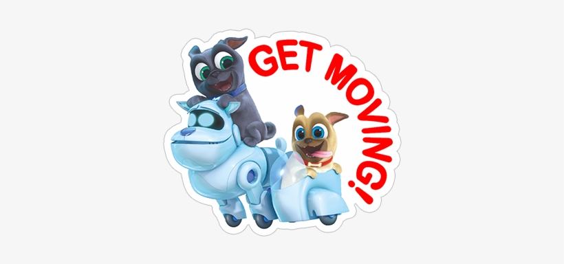 Viber Sticker Puppy Dog Pals Characters From Puppy Dog Pals