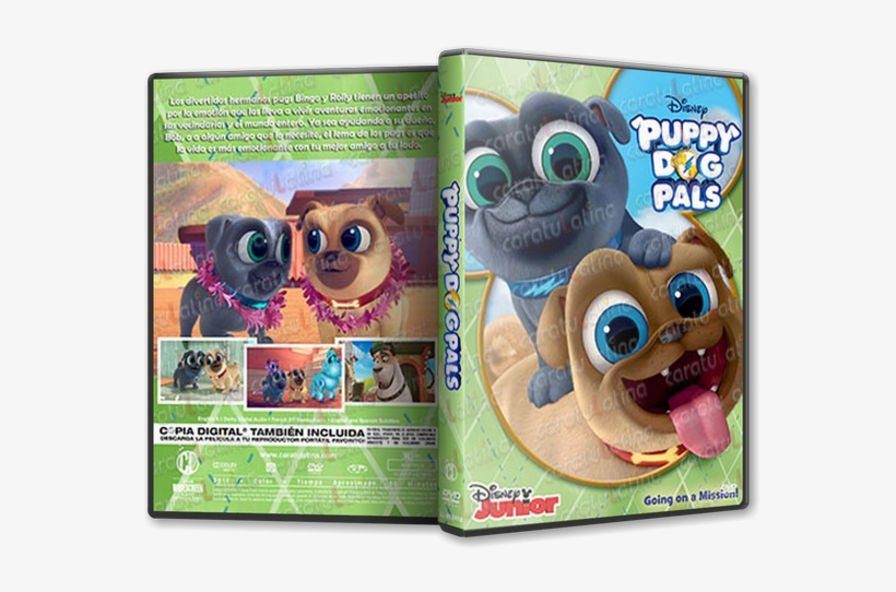 Puppy Dog Pals Puppy Dog Pals Dvd Transparent Png 639x480 Free