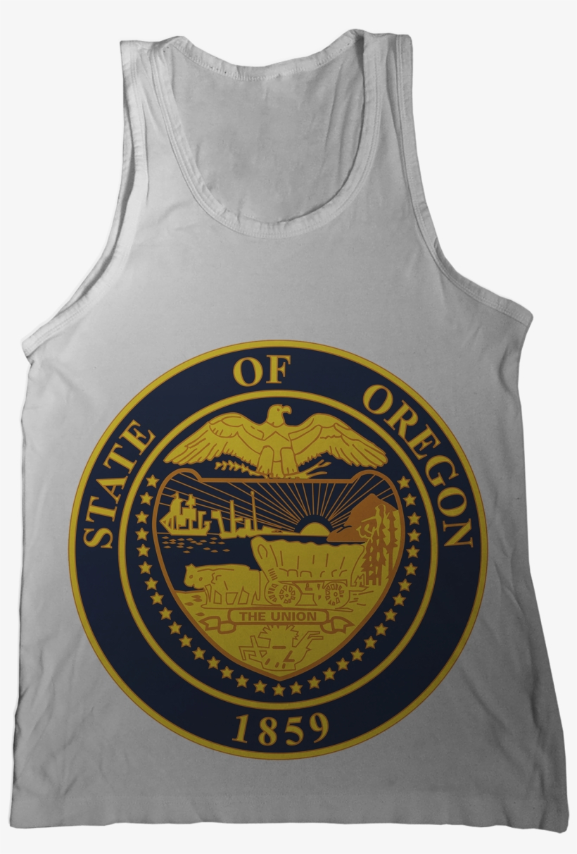 Oregon State Seal Tank Top Oregon Government Transparent Png 1296x1786 Free Download On Nicepng