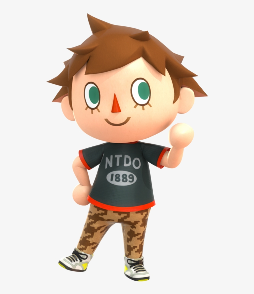 Png Animal Crossing New Leaf Boy Villager Transparent Png