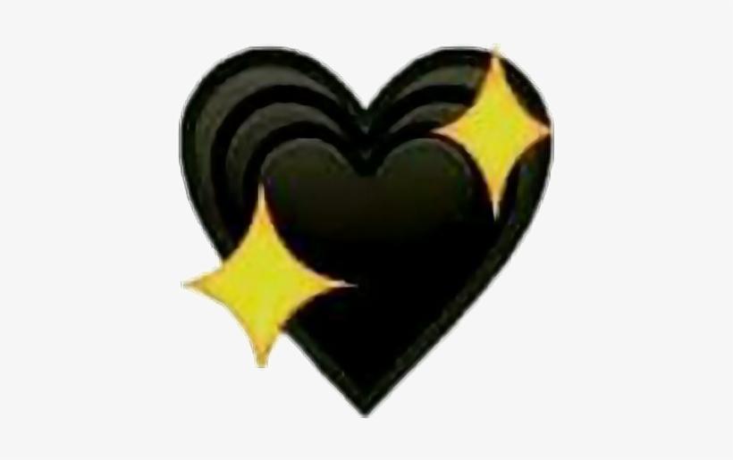 Aesthetic Black Heart Emoji Png - Largest Wallpaper Portal