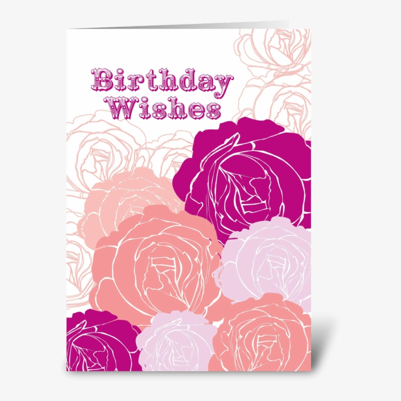 Fantastic Rose Birthday Wishes Greeting Card Greeting Card Transparent Png Funny Birthday Cards Online Fluifree Goldxyz