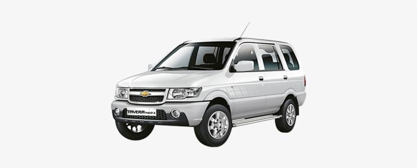 Tavera Chevrolet Tavera White Colour Transparent Png 400x300