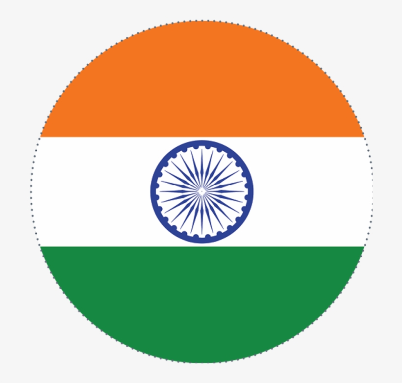 Indian Flag Circle Png Happy Independence Day Logo Png Transparent Png 700x700 Free Download On Nicepng