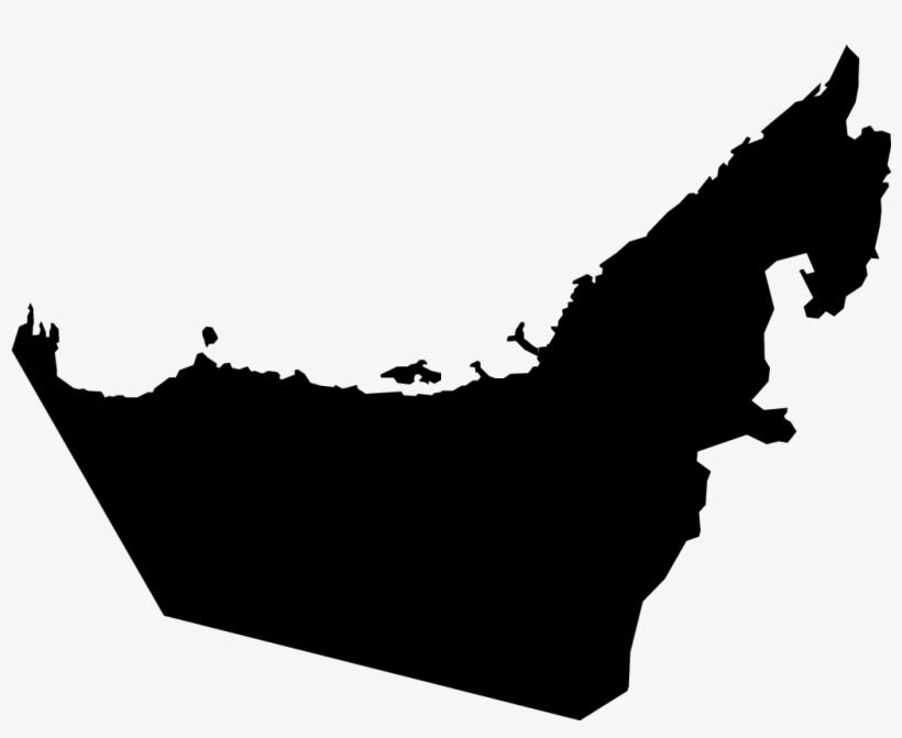 Dubai Abu Dhabi Blank Map World Map - United Arab Emirates