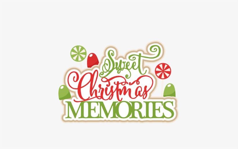 Sweet Christmas Memories Title Scrapbook Clip Art Christmas Christmas Memories Clipart Transparent Png 432x432 Free Download On Nicepng