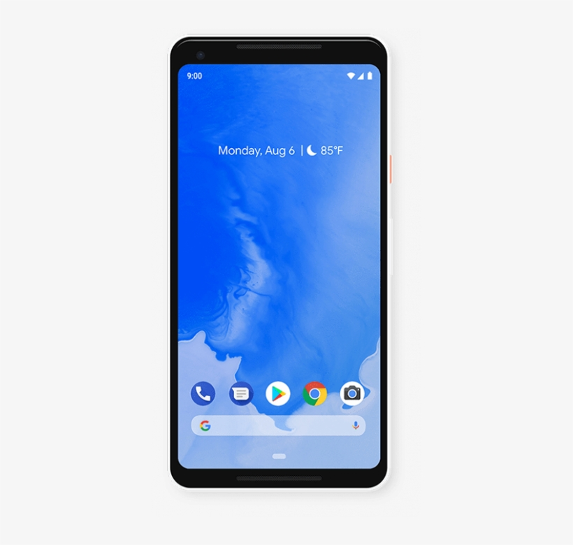 Android 9 Pie Wallpaper On Pixel 2 Xl Android 9 Pie Pixel Transparent Png 387x700 Free Download On Nicepng