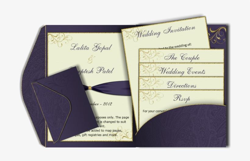 Pocketfold Wedding Invitations