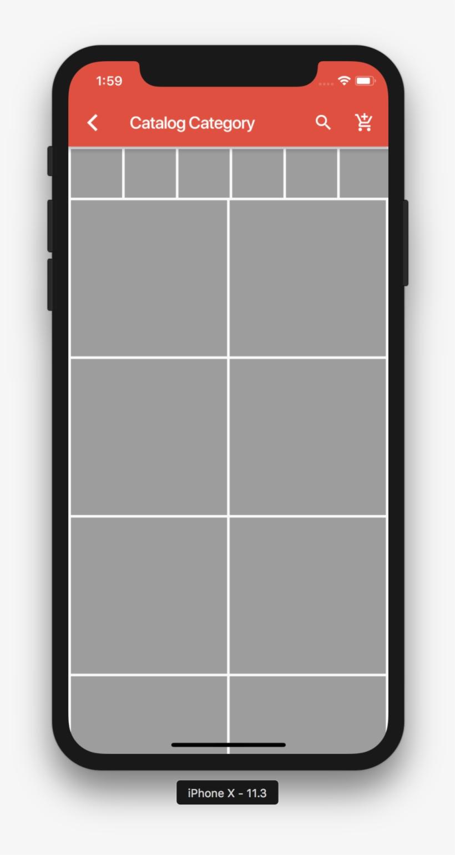 Testing Flutter Sdk To Build Ecommerce App - Mobile App Transparent