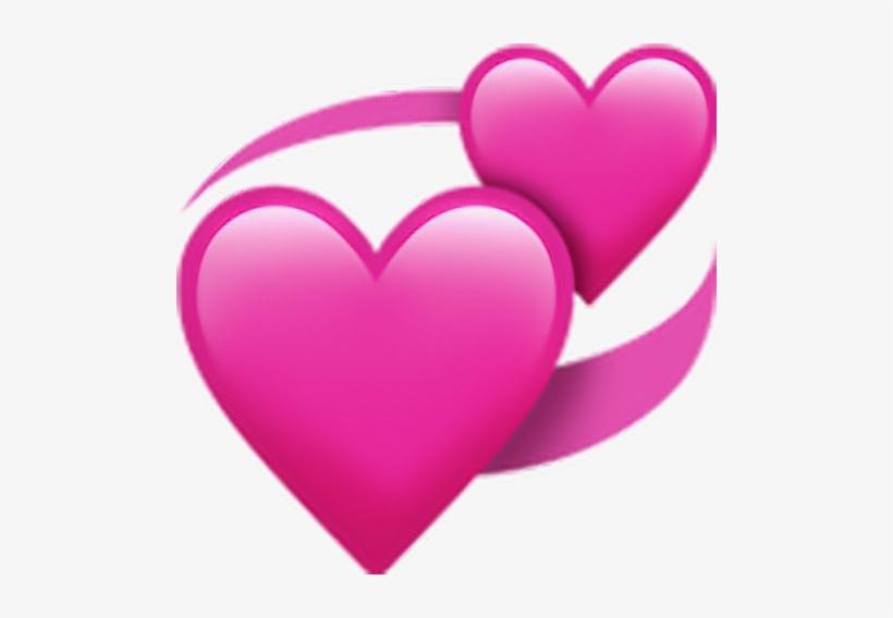 Apple Heart Emoji Png Transparent PNG