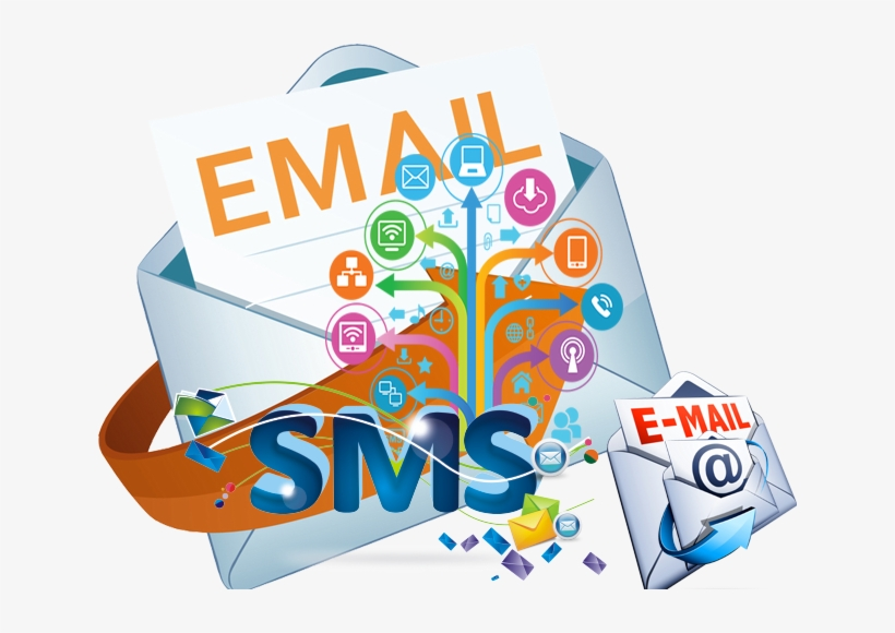 Do Bulk Email Marketing - Bulk Sms And Email Transparent PNG