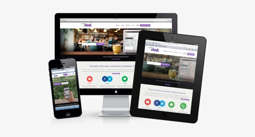 Responsive Web Design Example Responsive Web Design Png Transparent Png 555x367 Free Download On Nicepng
