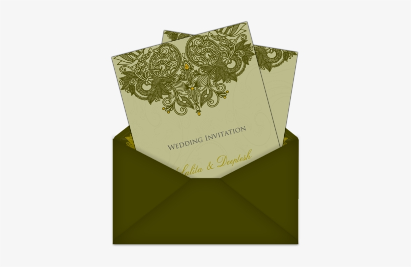 Letter Style Indian Asian Email Wedding Card 2 An Email Wedding