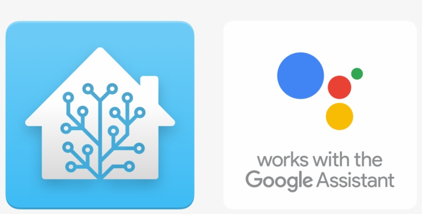 Home Assistant Logo And The Works With The Google Assistant
