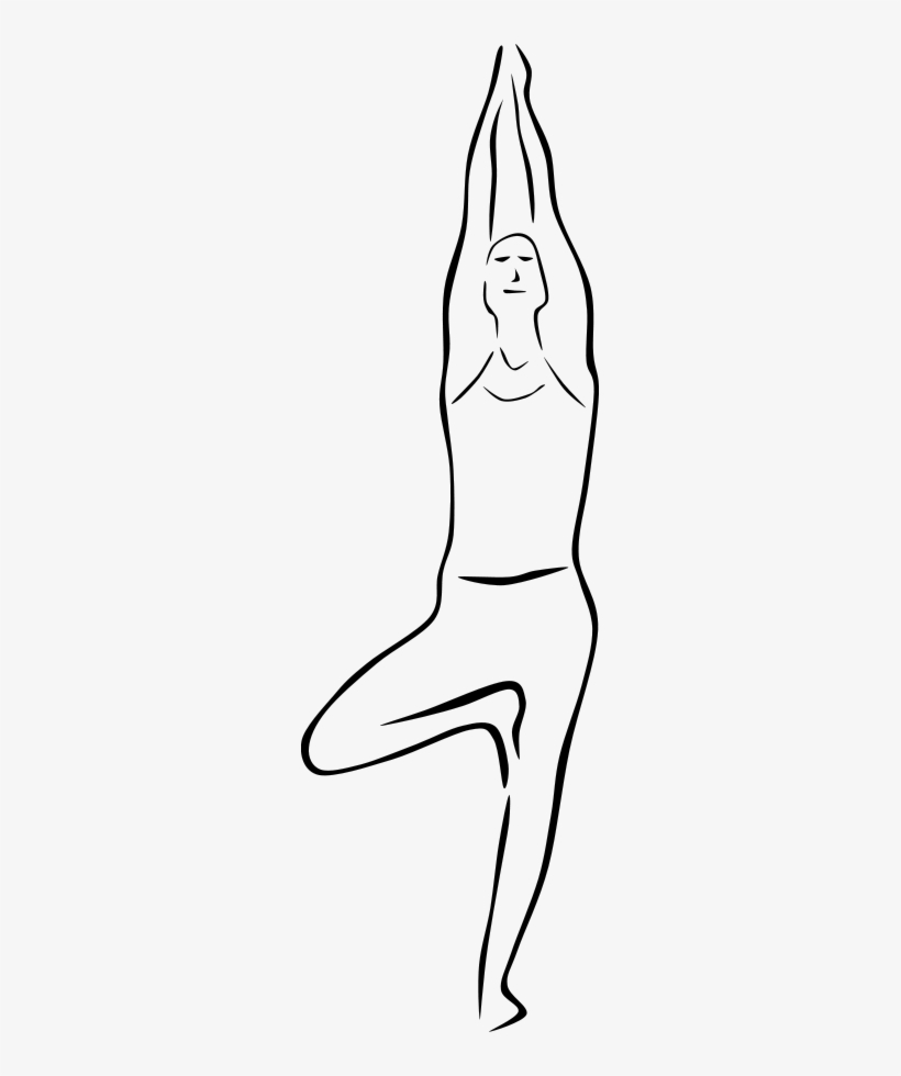 How To Set Use Yoga Poses Clipart Outline Pictures Of Yoga Transparent Png 271x900 Free Download On Nicepng