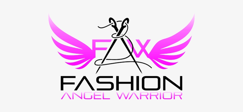 Fashion Angel Warrior Creative Fashion Logo Design Transparent Png 500x298 Free Download On Nicepng