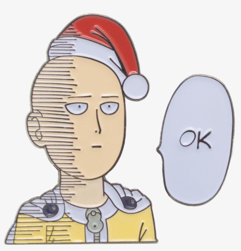 Saitama Wishes You An Ok Christmas One Punch Man Ok Transparent Transparent Png 1024x1024 Free Download On Nicepng He has no habit of heroism in. saitama wishes you an ok christmas