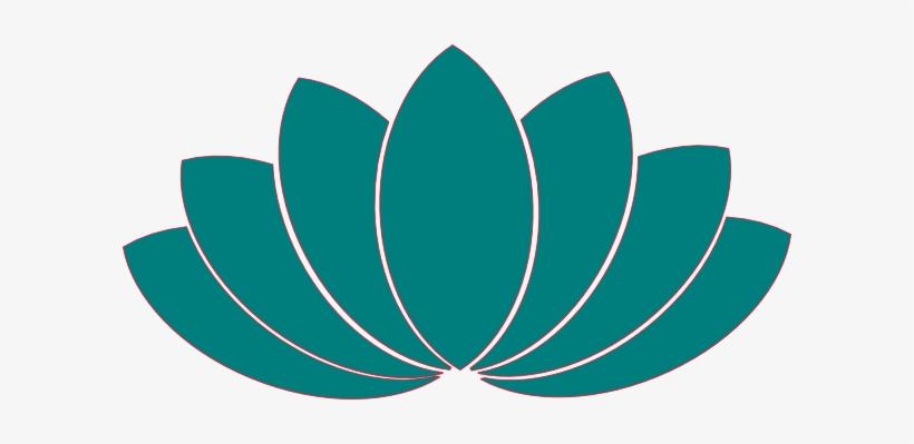 Turquoise Clipart Lotus Flower Lotus Petals Clip Art Transparent