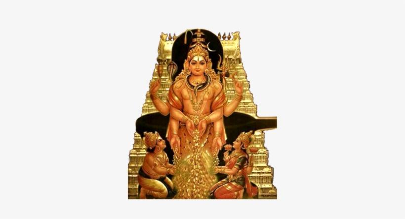 Lakshmi Kuber Homam - Shiva Kubera Lakshmi Transparent PNG - 467x381