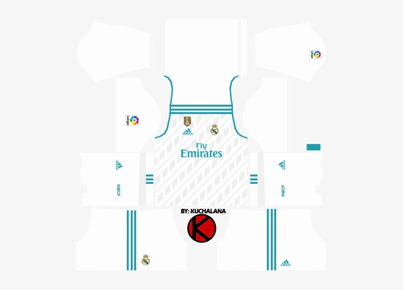 the best attitude e9a33 e5ed3 Real Madrid Home Kits 2017/2018 - Dream League Soccer 2018 ...
