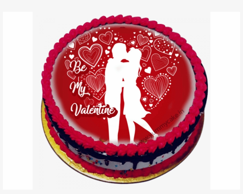 First Slide - Romantic Birthday Cake For Girlfriend Transparent PNG ...