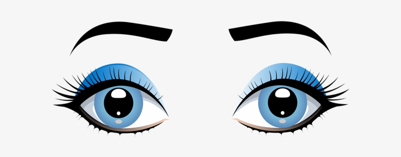 Jpg Royalty Free Stock Cartoon Girl Eyes Cartoonview Clip Art
