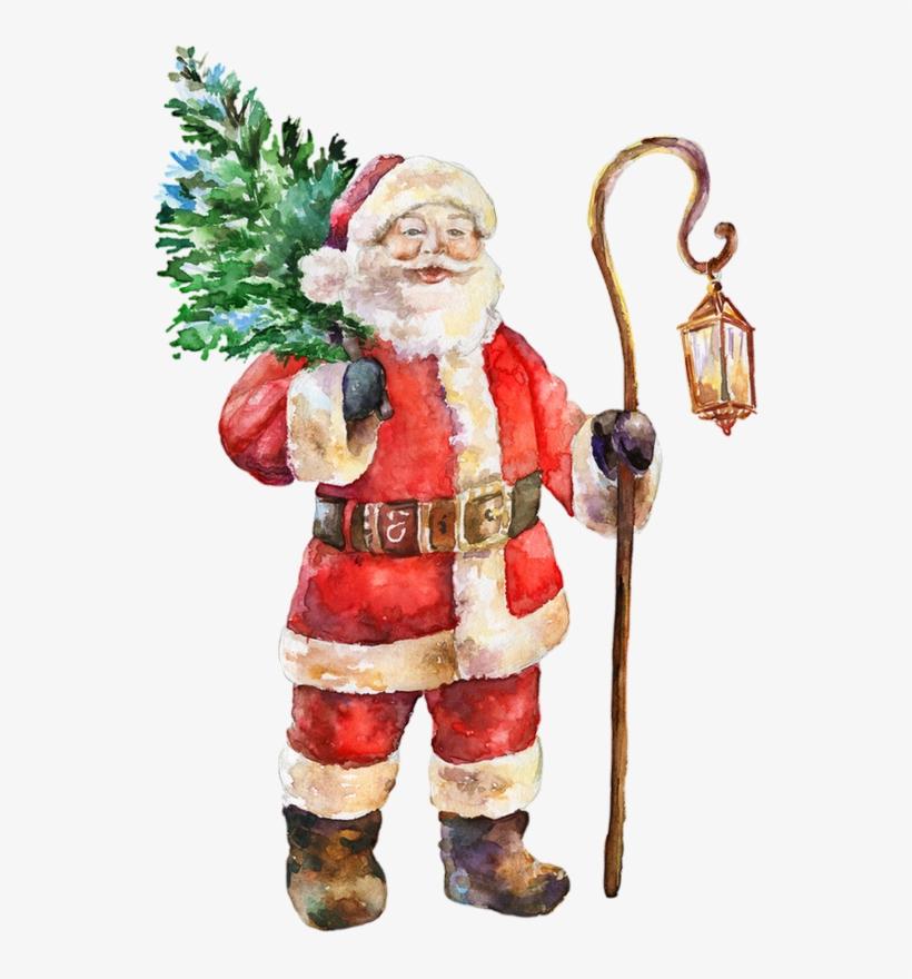 Tube Image Noel.Tube Pere Noel Santa Claus Transparent Png 545x800