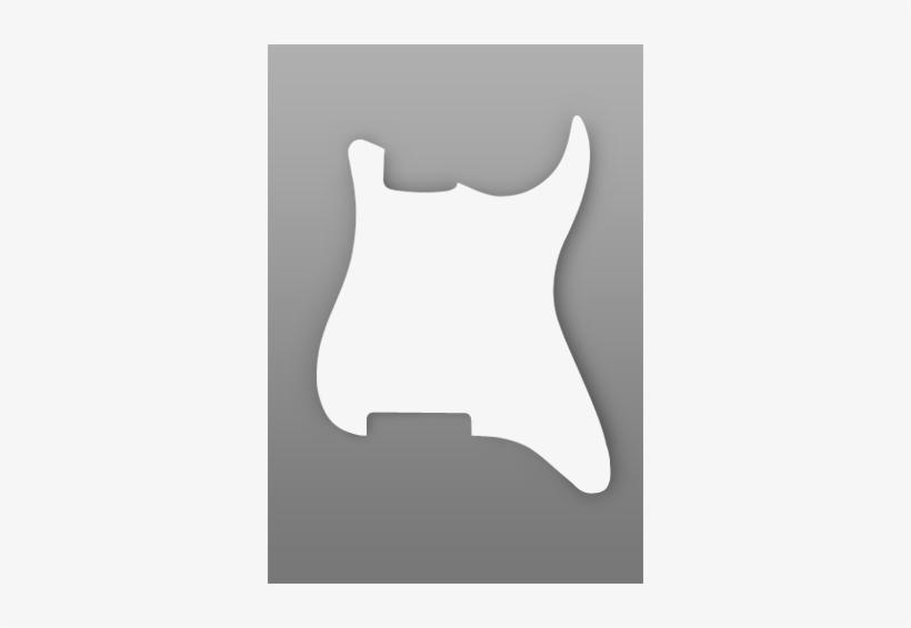 Warmoth Custom Guitar Parts Strat Pickguard - One Pickup