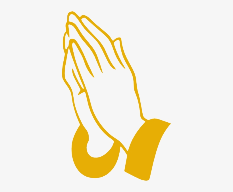 Small Praying Hands Drawing Easy Transparent Png 384x595 Free