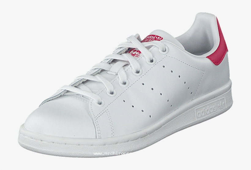 big sale a4d18 640cb Adidas Originals Stan Smith J Ftwr White bold Pink - Adidas Originals Stan  Smith Eu 37 1 3