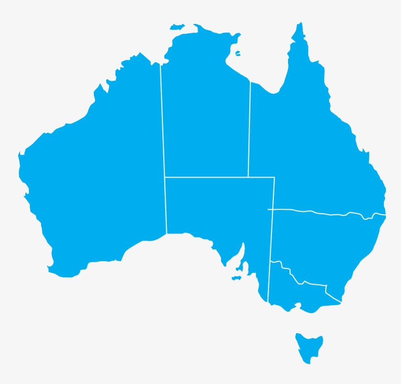 Australia Map Transparent.Australia Transparent Background Free Vector Map Australia