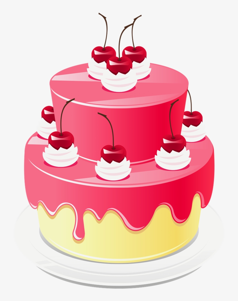 Excellent Elegant Images Of Birthday Cakes Png Cake Png Images Happy Personalised Birthday Cards Bromeletsinfo