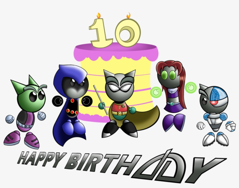 Happy 10th Birthday Transparent Background Png