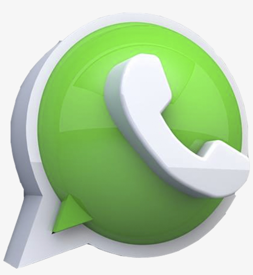 Logo Whatsapp 3d Png Transparent PNG - 955x955 - Free Download on